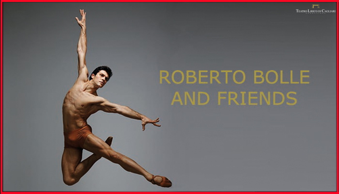 Roberto Bolle and Friend